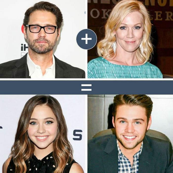 Como seriam os filhos de casais famosos de filmes e séries populares 9