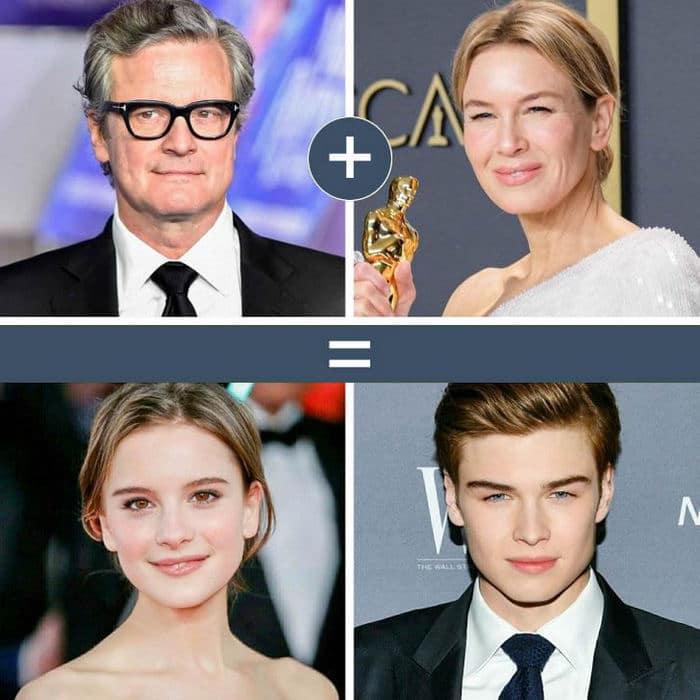 Como seriam os filhos de casais famosos de filmes e séries populares 11