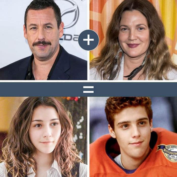 Como seriam os filhos de casais famosos de filmes e séries populares 14