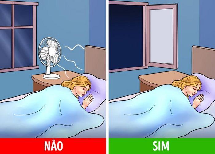 Dormir com ventilador ligado pode trazer riscos à saúde 4