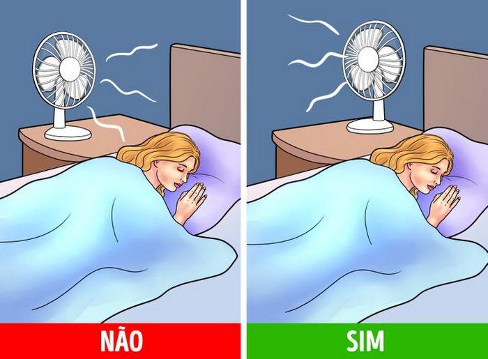 Dormir com ventilador ligado pode trazer riscos à saúde 6