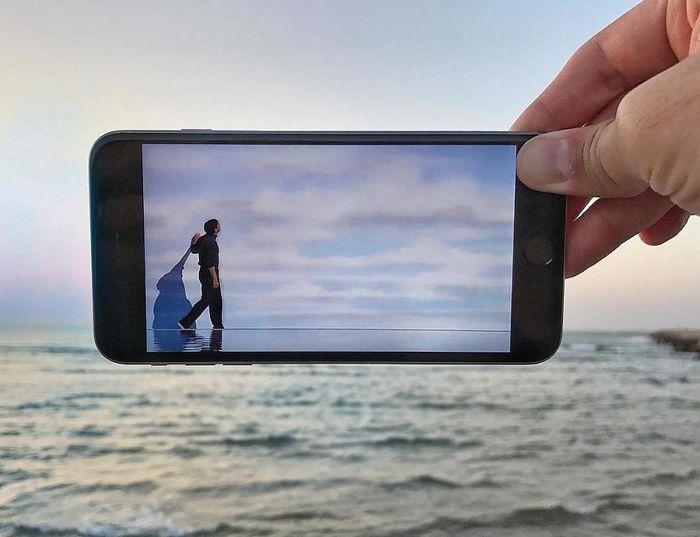 Fotos divertidas tiradas com dois smartphone 14