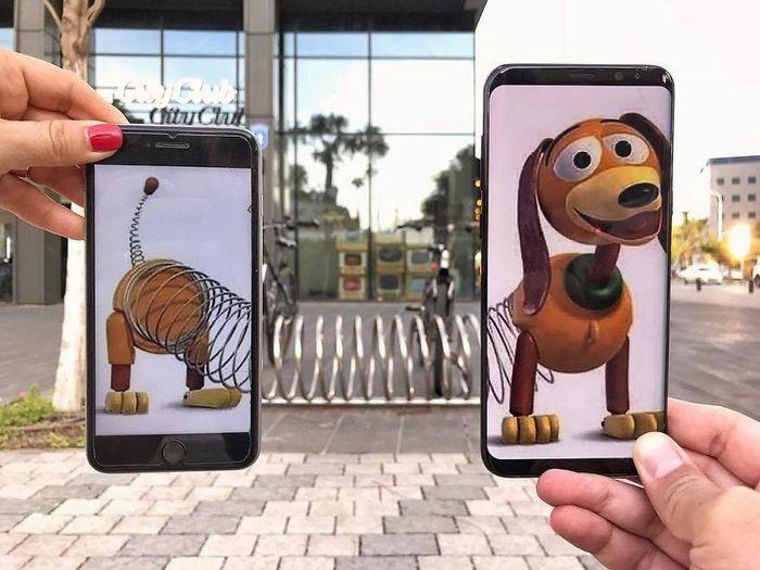 Fotos divertidas tiradas com dois smartphone 15