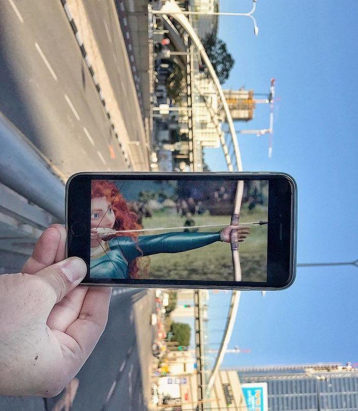 Fotos divertidas tiradas com dois smartphone 16