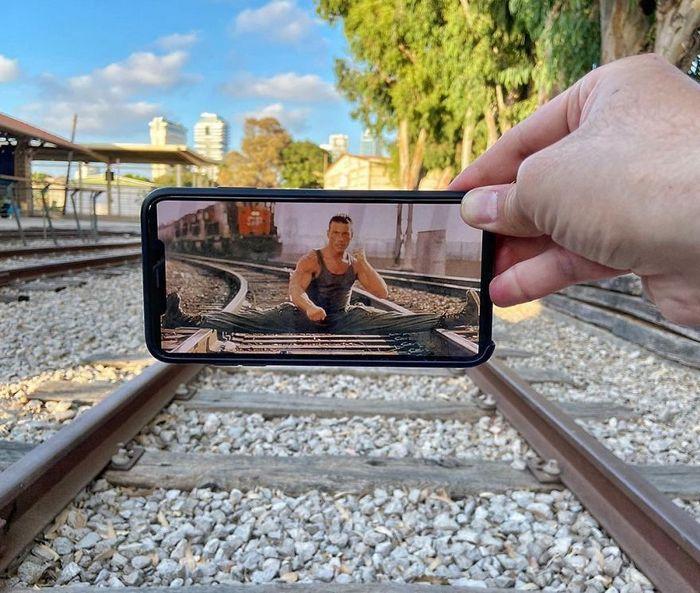 Fotos divertidas tiradas com dois smartphone 22