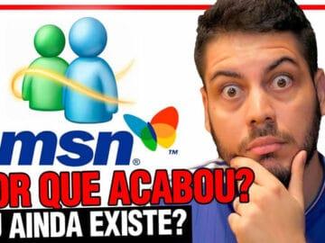 História do MSN! Por que o maior sucesso da Microsoft acabou? 8