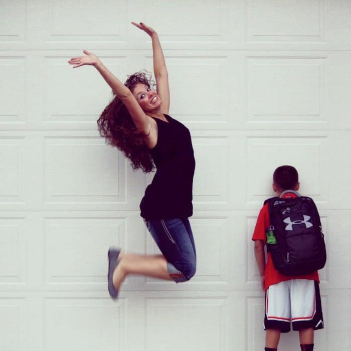 Pais postam aquele momento horrível em que seus filhos voltam para a escola 20