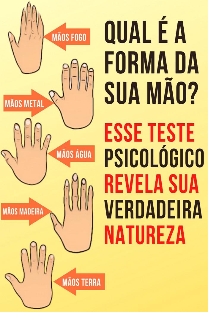 Teste psicológico forma da sua mão revela sua verdadeira natureza 2