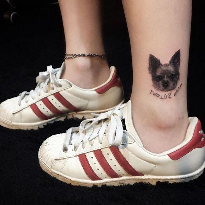 49 tatuagens pequenas para tornozelos que vão te encantar: são discretas e lindas! 15