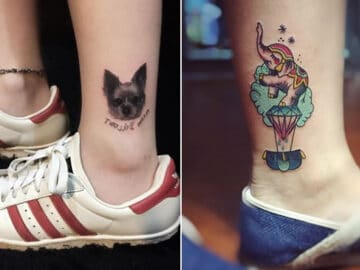 49 tatuagens pequenas para tornozelos que vão te encantar: são discretas e lindas! 6
