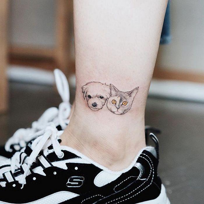 49 tatuagens pequenas para tornozelos que vão te encantar: são discretas e lindas! 39