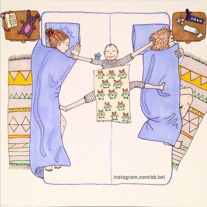 Uma mãe norueguesa mostra sua vida em ilustrações irônicas 35