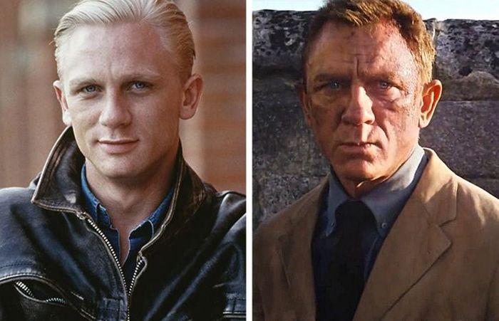 24 antes e depois da aparência de celebridades famosas de Hollywood 10