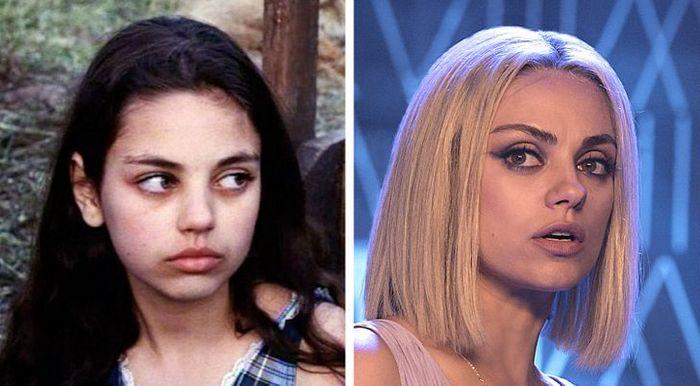 24 antes e depois da aparência de celebridades famosas de Hollywood 19