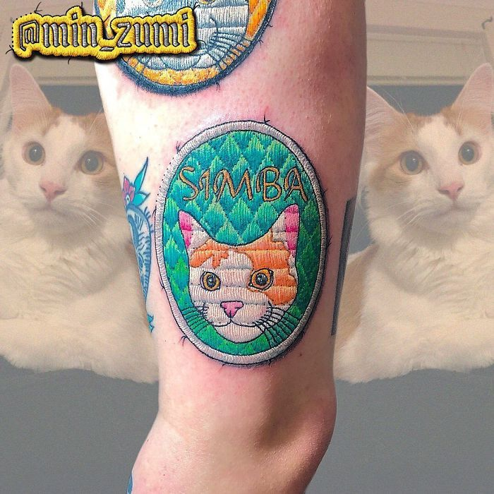 Artista cria tatuagens que parecem remendos costurados e aqui estão 44 de suas obras mais impressionantes 4
