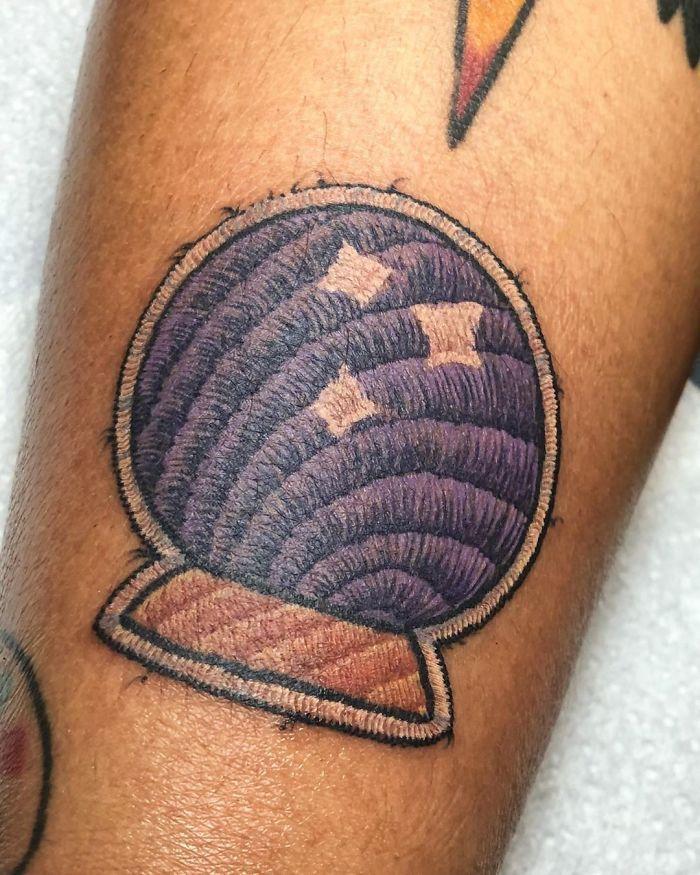 Artista cria tatuagens que parecem remendos costurados e aqui estão 44 de suas obras mais impressionantes 8