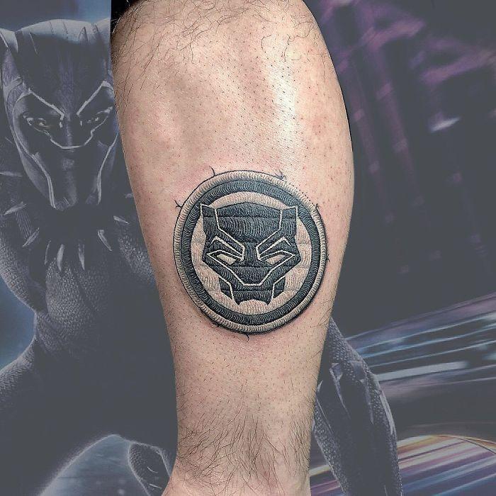 Artista cria tatuagens que parecem remendos costurados e aqui estão 44 de suas obras mais impressionantes 11