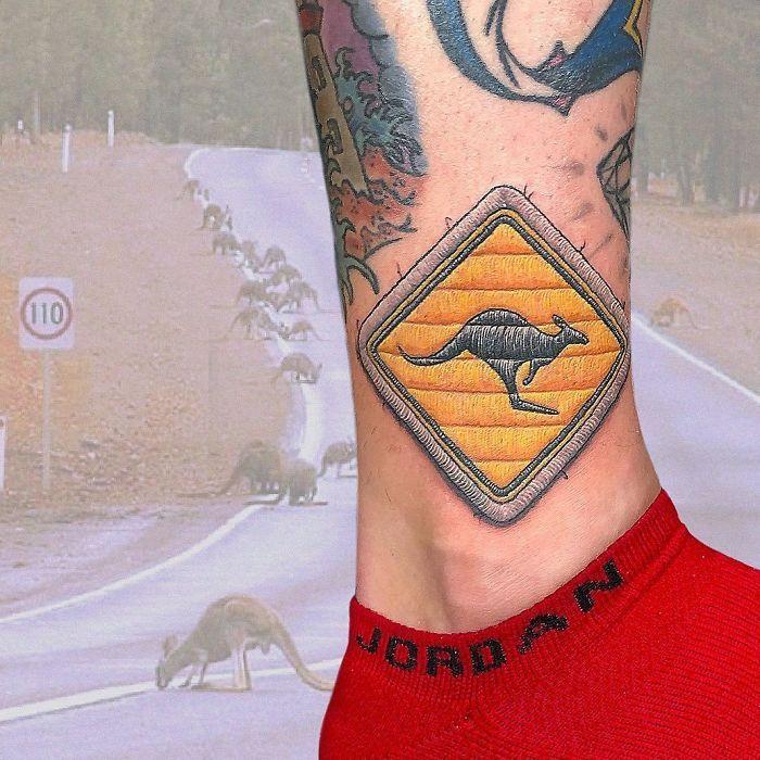 Artista cria tatuagens que parecem remendos costurados e aqui estão 44 de suas obras mais impressionantes 13