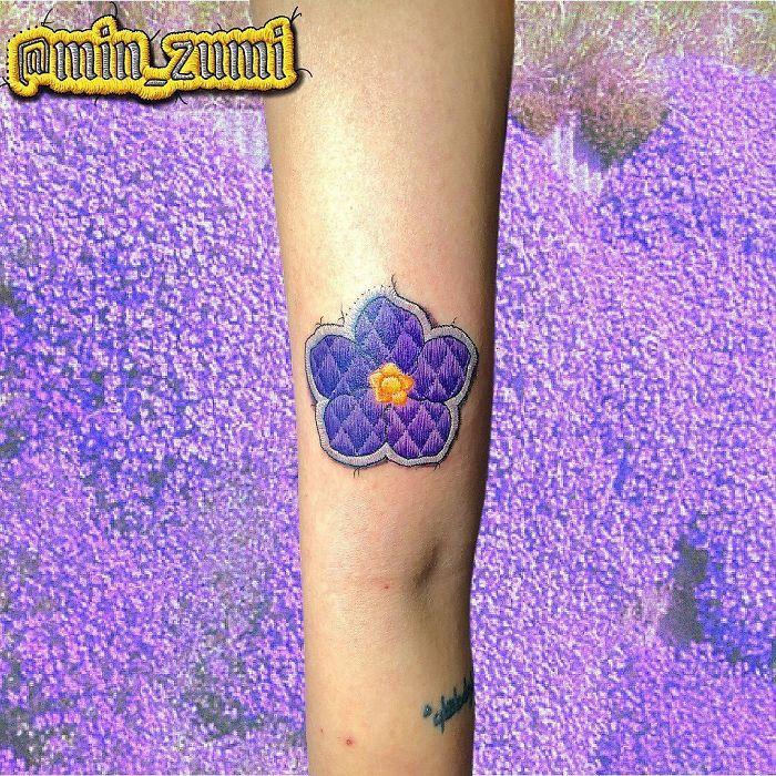 Artista cria tatuagens que parecem remendos costurados e aqui estão 44 de suas obras mais impressionantes 20