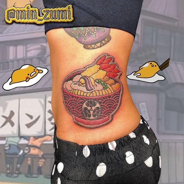 Artista cria tatuagens que parecem remendos costurados e aqui estão 44 de suas obras mais impressionantes 21