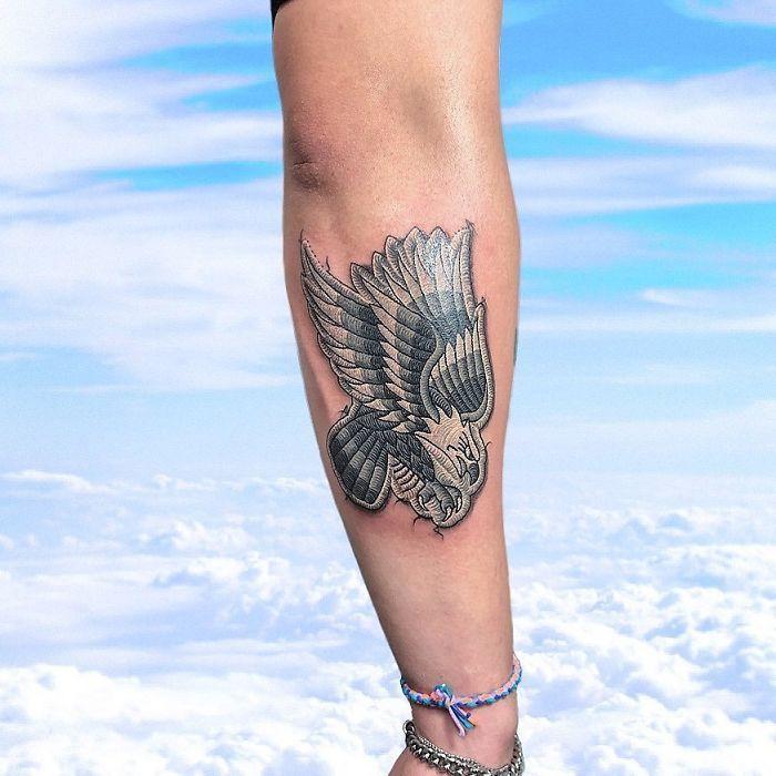 Artista cria tatuagens que parecem remendos costurados e aqui estão 44 de suas obras mais impressionantes 23