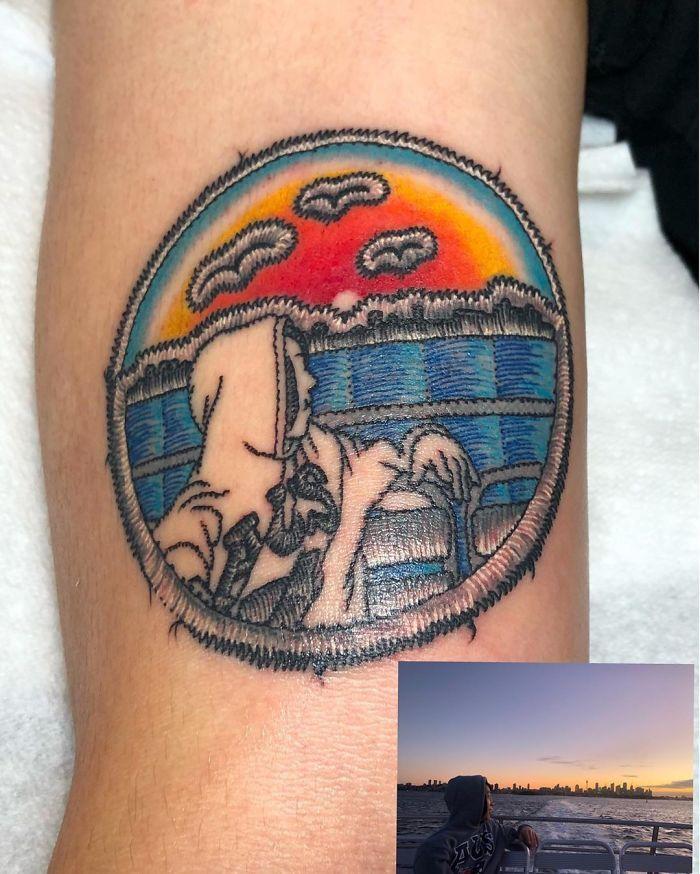 Artista cria tatuagens que parecem remendos costurados e aqui estão 44 de suas obras mais impressionantes 26