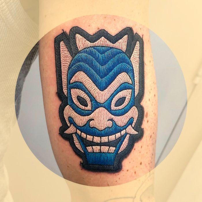 Artista cria tatuagens que parecem remendos costurados e aqui estão 44 de suas obras mais impressionantes 29