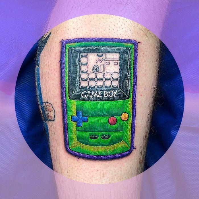 Artista cria tatuagens que parecem remendos costurados e aqui estão 44 de suas obras mais impressionantes 35