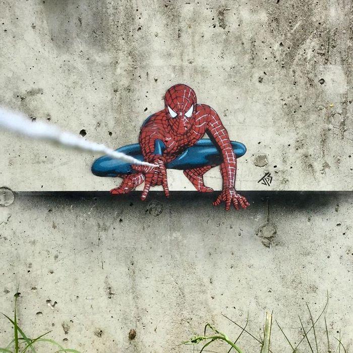 Artista de rua JPS faz sua arte em lugares que a maioria das pessoas negligenciaria 2