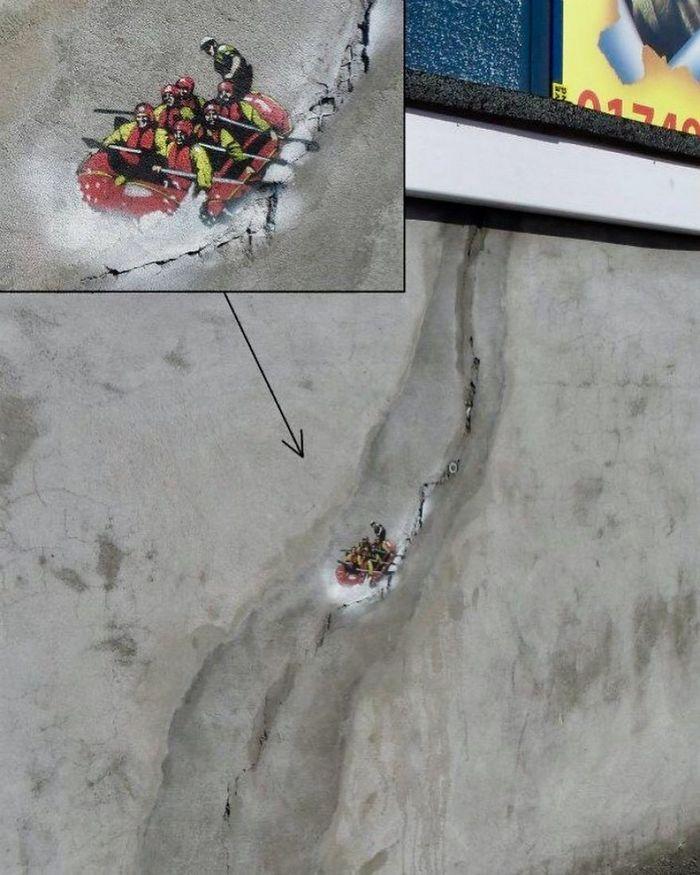 Artista de rua JPS faz sua arte em lugares que a maioria das pessoas negligenciaria 19