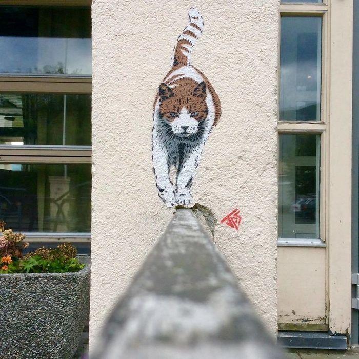 Artista de rua JPS faz sua arte em lugares que a maioria das pessoas negligenciaria 20