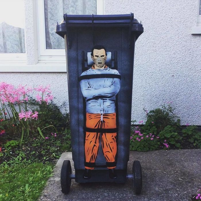 Artista de rua JPS faz sua arte em lugares que a maioria das pessoas negligenciaria 21