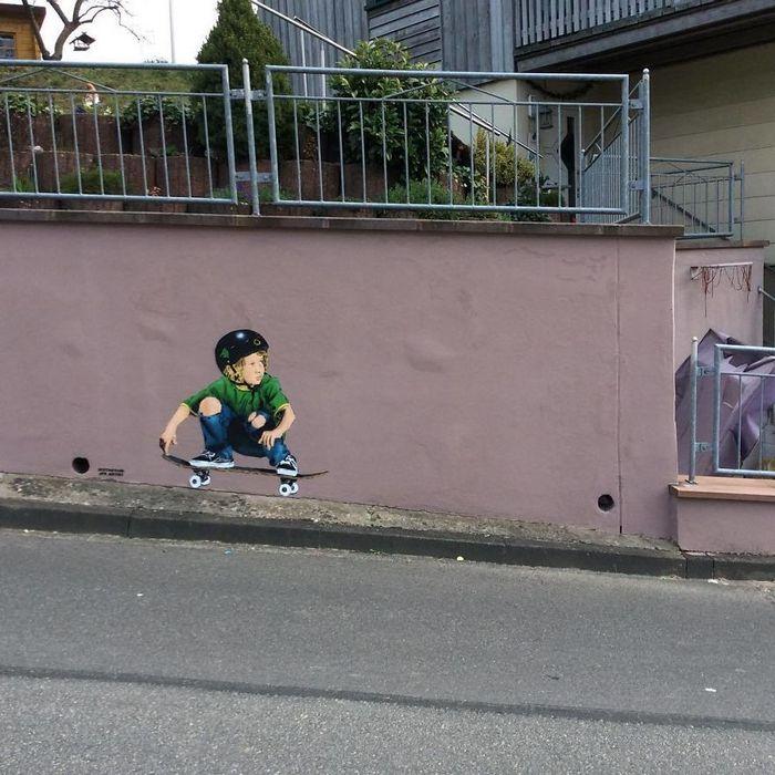 Artista de rua JPS faz sua arte em lugares que a maioria das pessoas negligenciaria 22