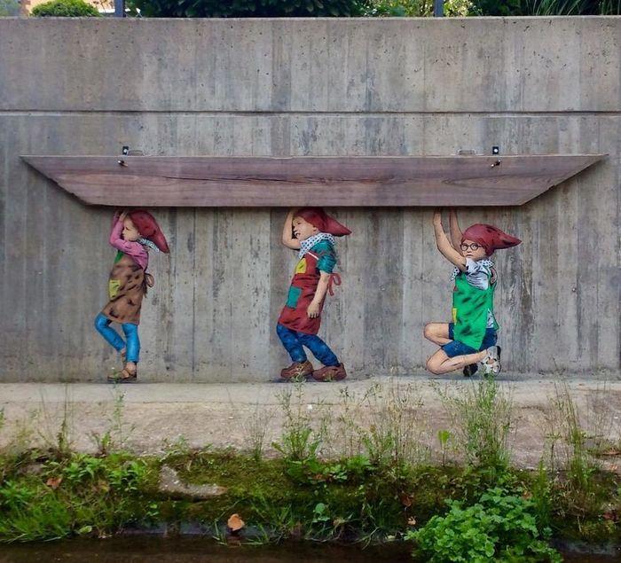 Artista de rua JPS faz sua arte em lugares que a maioria das pessoas negligenciaria 28