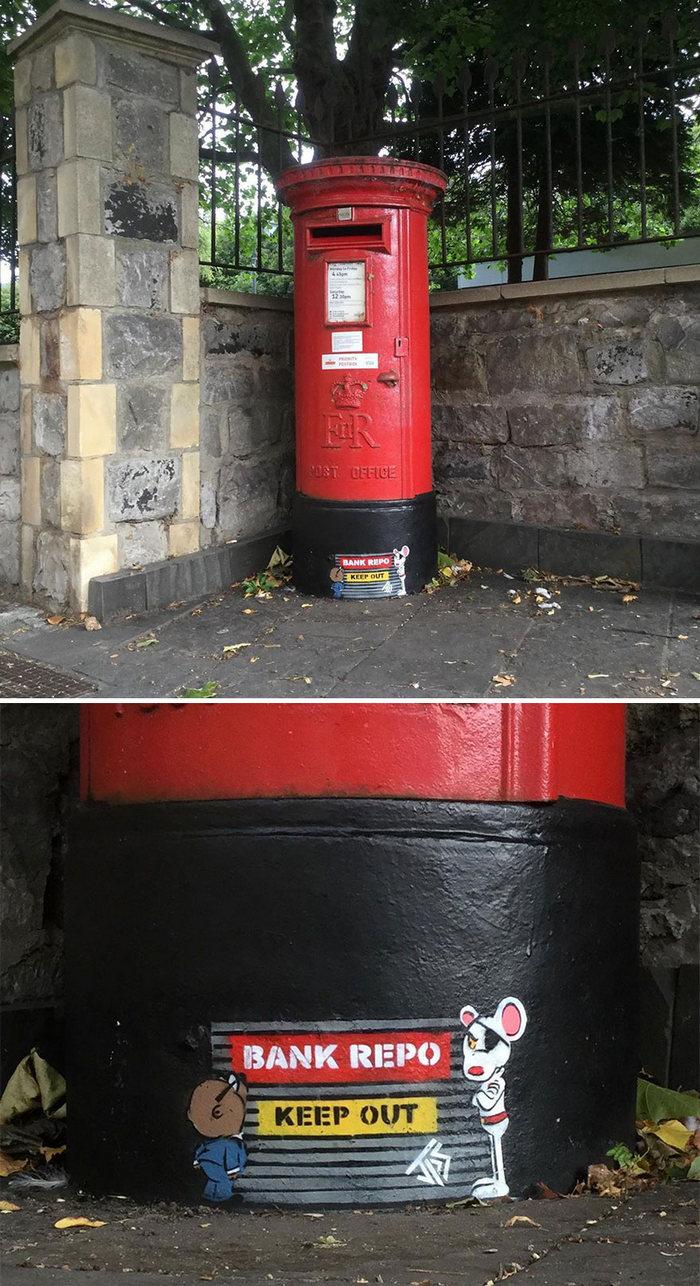Artista de rua JPS faz sua arte em lugares que a maioria das pessoas negligenciaria 31