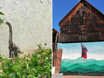Artista de rua JPS faz sua arte em lugares que a maioria das pessoas negligenciaria 3