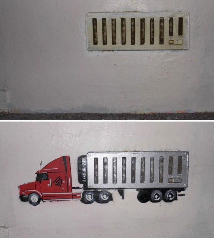 Artista de rua JPS faz sua arte em lugares que a maioria das pessoas negligenciaria 40