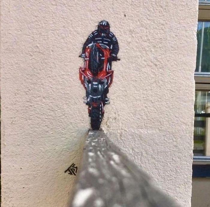 Artista de rua JPS faz sua arte em lugares que a maioria das pessoas negligenciaria 41