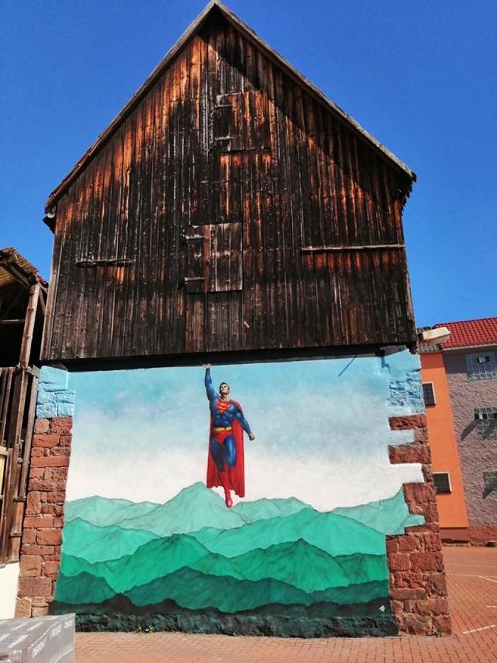 Artista de rua JPS faz sua arte em lugares que a maioria das pessoas negligenciaria 42
