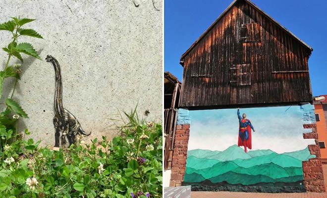 Artista de rua JPS faz sua arte em lugares que a maioria das pessoas negligenciaria 15