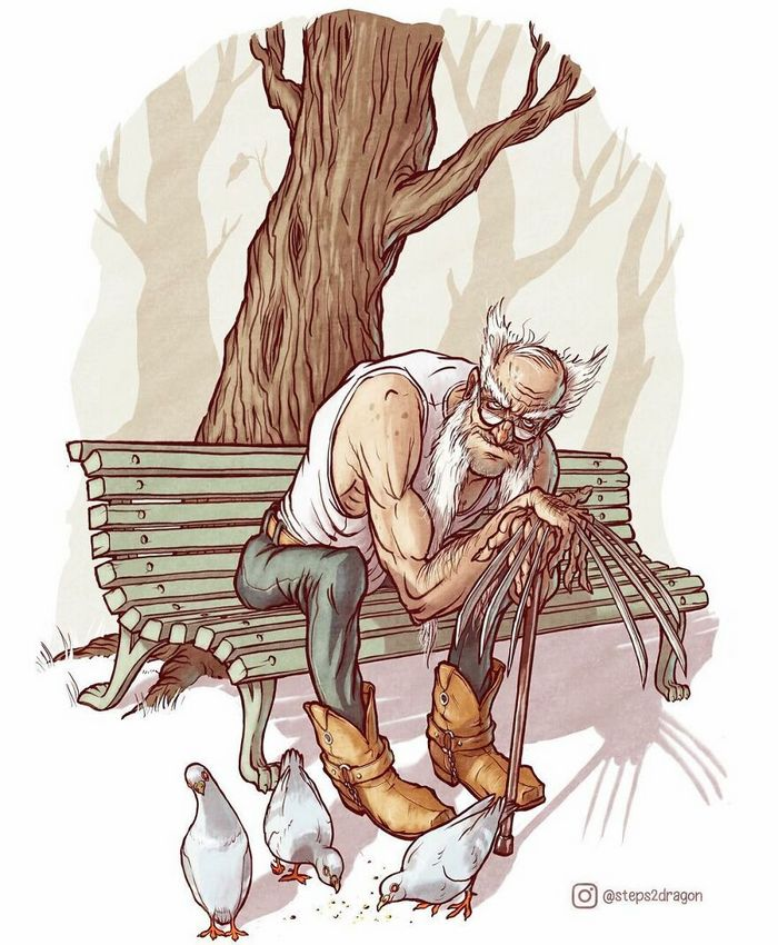 Artista russo cria ilustrações que são divertidas e assustadoras 7