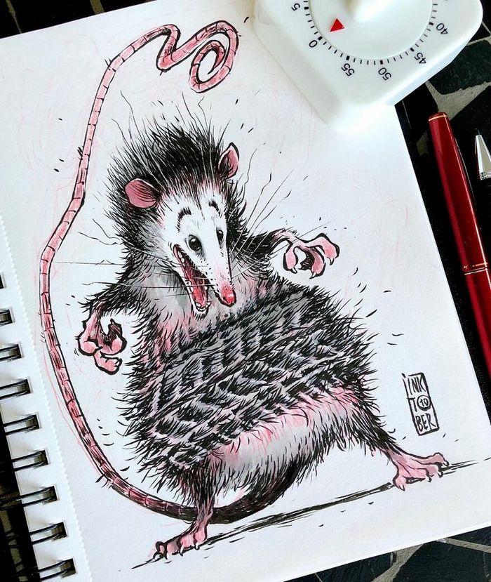 Artista russo cria ilustrações que são divertidas e assustadoras 31