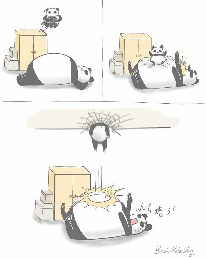 Artista taiwanês ilustra personagens fofinhos em situações engraçadas 41