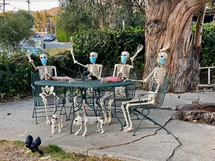 40 decorações de Halloween do ano de 2020 que são engraçadas e assustadoras 10