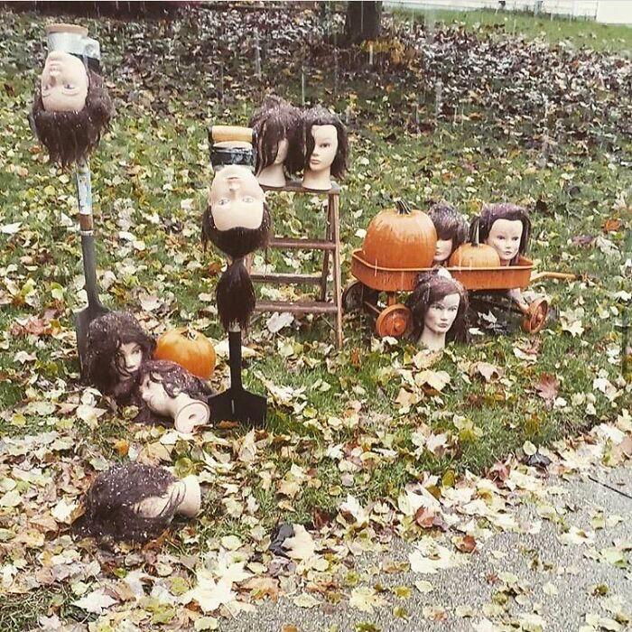 40 decorações de Halloween do ano de 2020 que são engraçadas e assustadoras 12