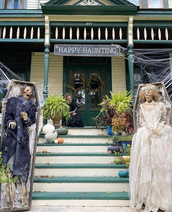 40 decorações de Halloween do ano de 2020 que são engraçadas e assustadoras 15