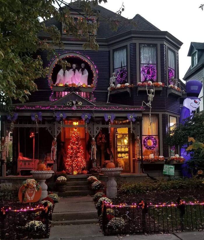 40 decorações de Halloween do ano de 2020 que são engraçadas e assustadoras 27