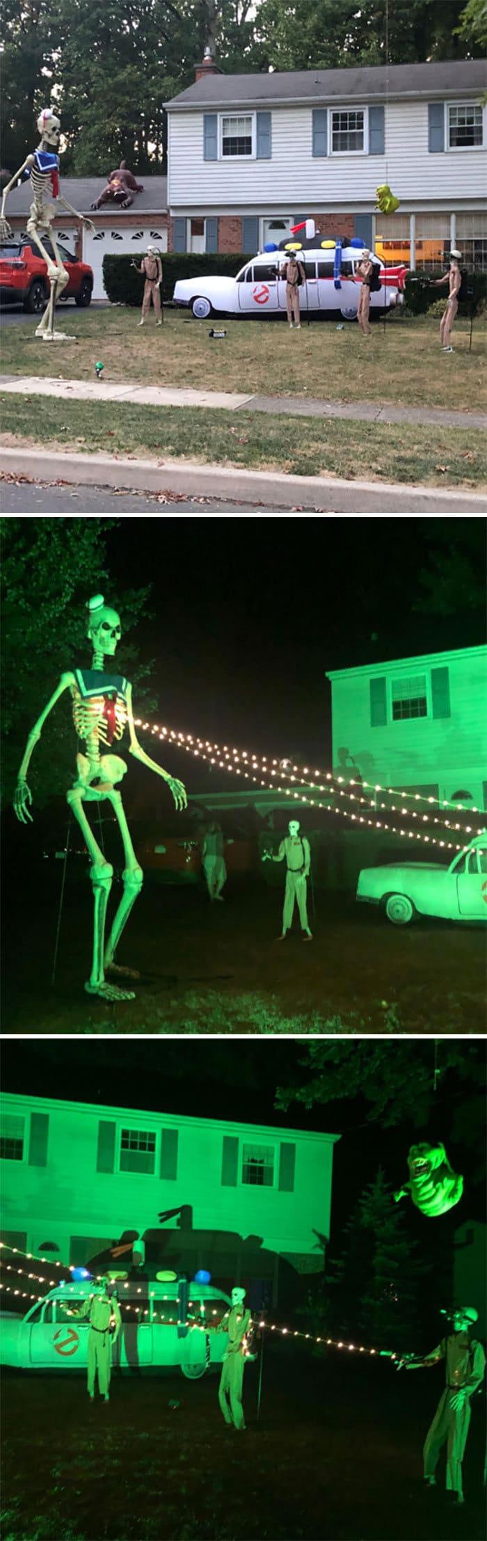 40 decorações de Halloween do ano de 2020 que são engraçadas e assustadoras 29