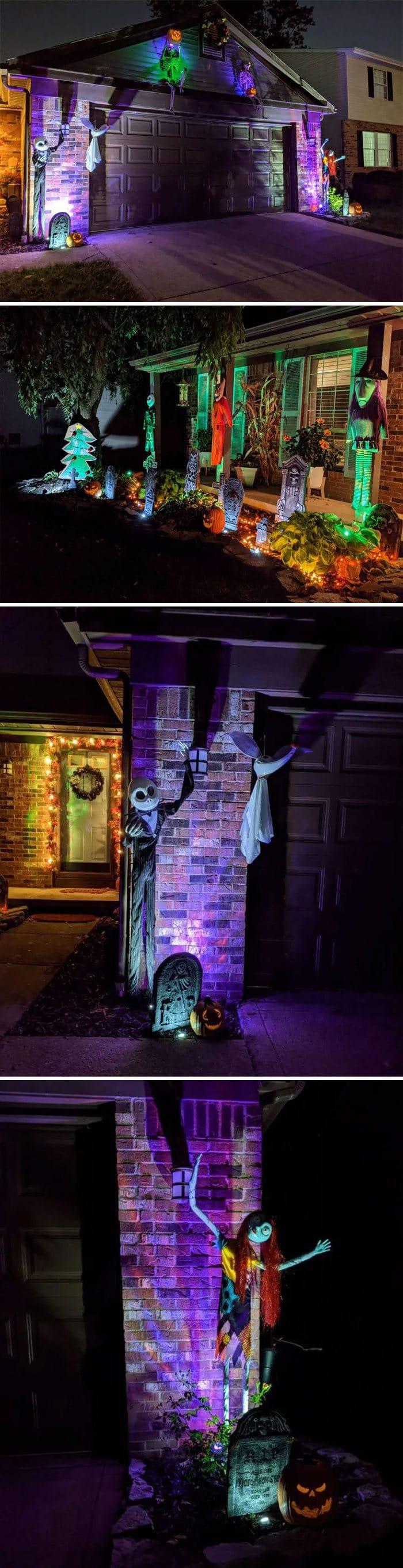 40 decorações de Halloween do ano de 2020 que são engraçadas e assustadoras 31