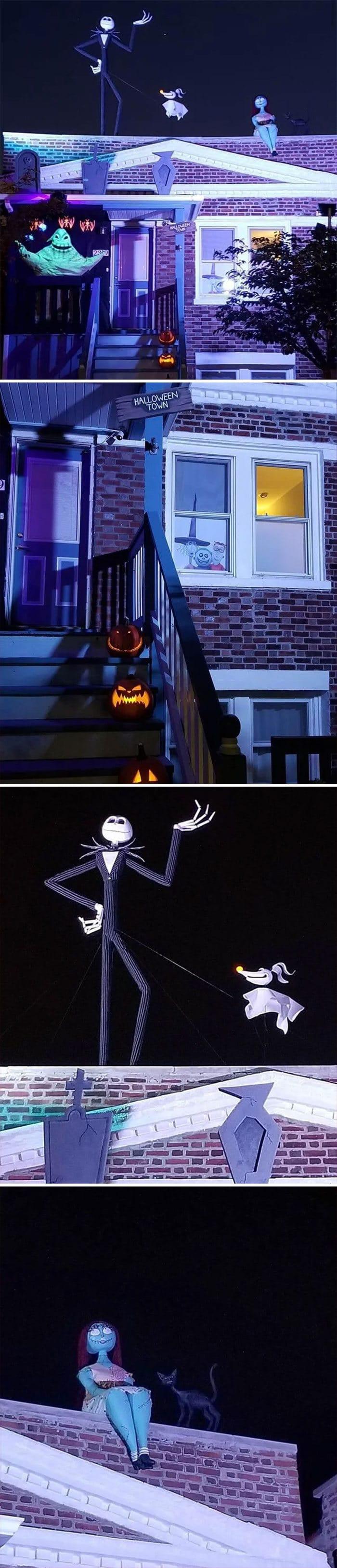 40 decorações de Halloween do ano de 2020 que são engraçadas e assustadoras 34